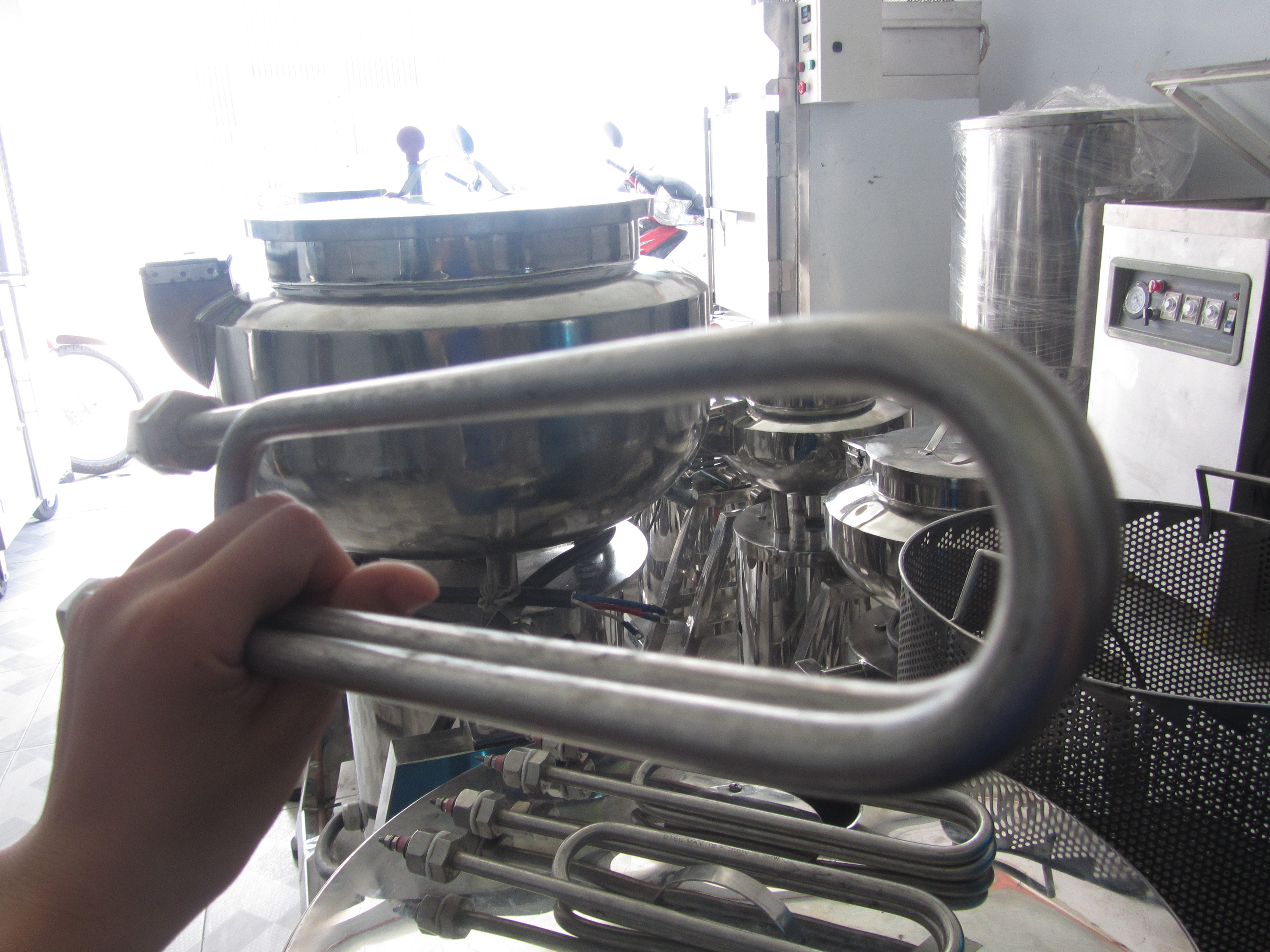 Thanh nhiệt tủ nấu cơm công nghiệp