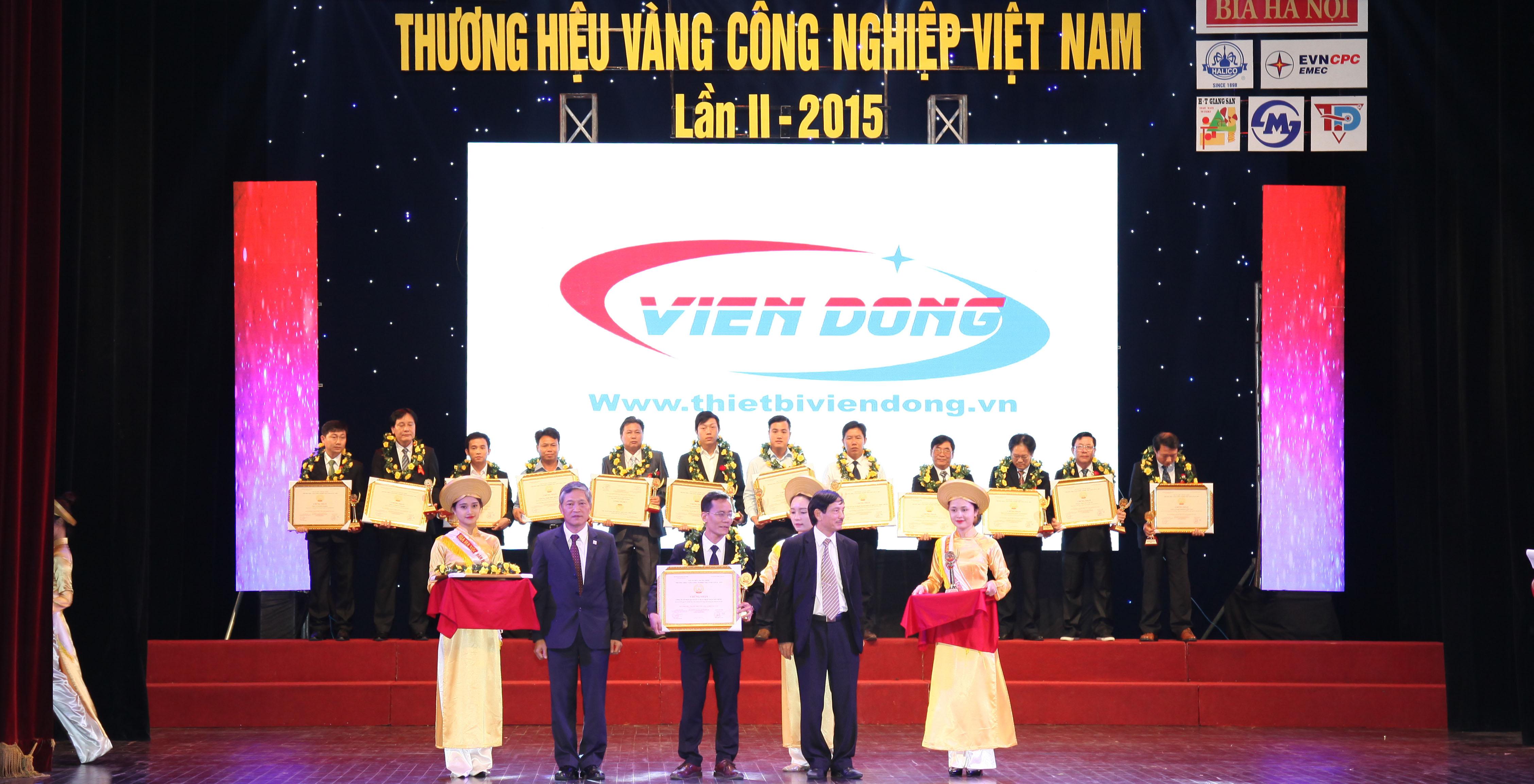 Thương hiệu Vàng Công nghiệp Việt Nam
