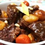 Cách làm món bò hầm khoai tây bằng nồi điện