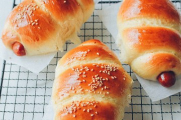 Cách làm bánh mì xúc xích