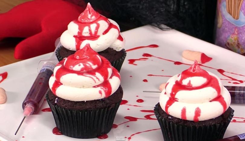 làm cupcake bằng lò nướng điện