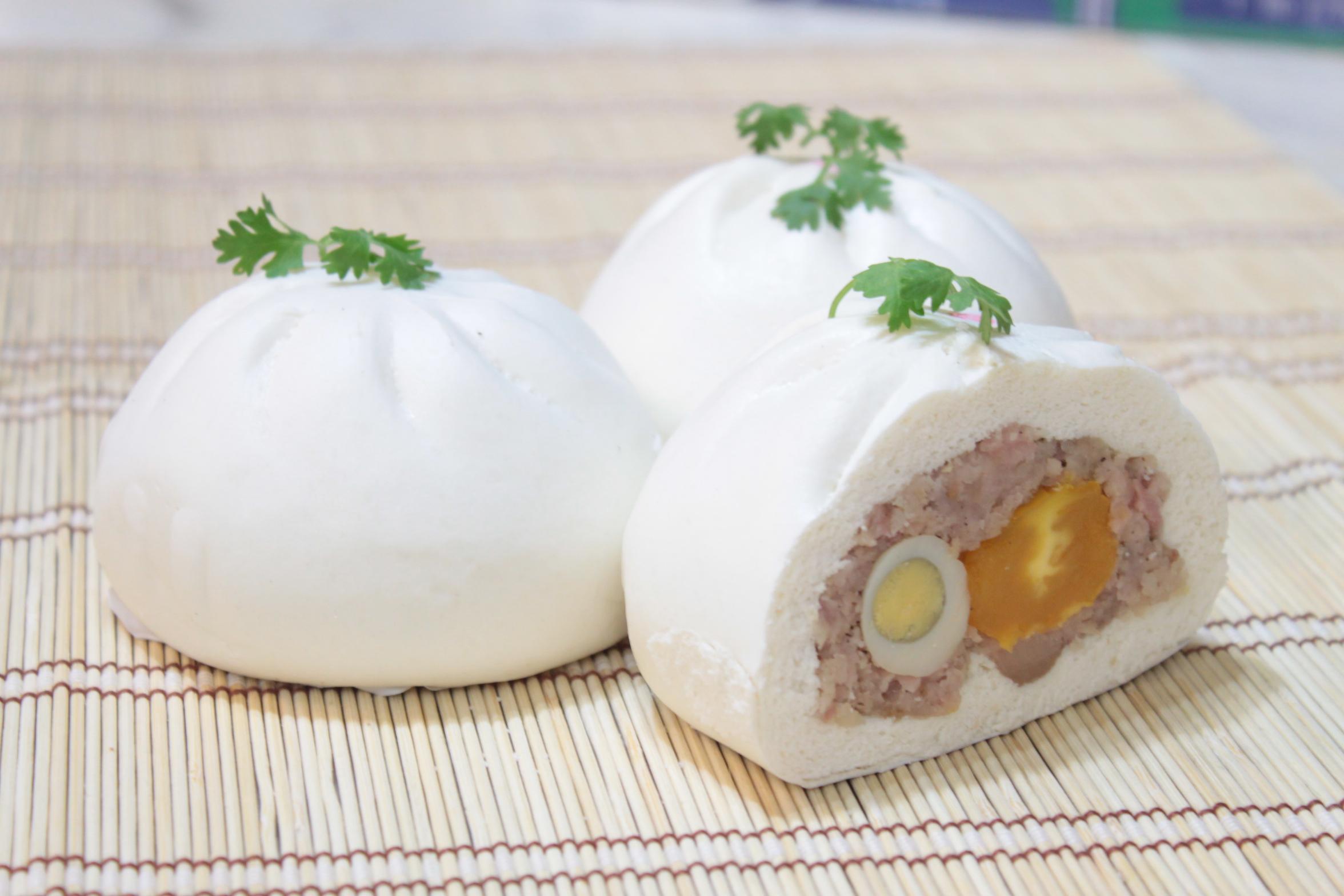 cách làm bánh bao bằng nồi cơm điện