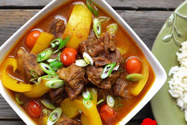 cách làm món bò hầm khoai tây