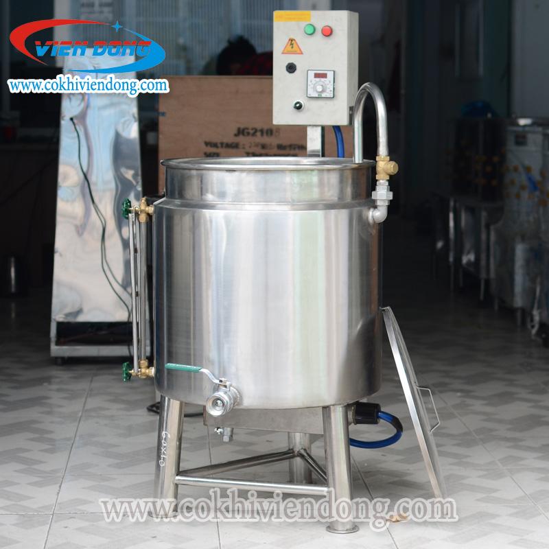 Lắp đặt nồi nấu sữa đậu nành dùng điện