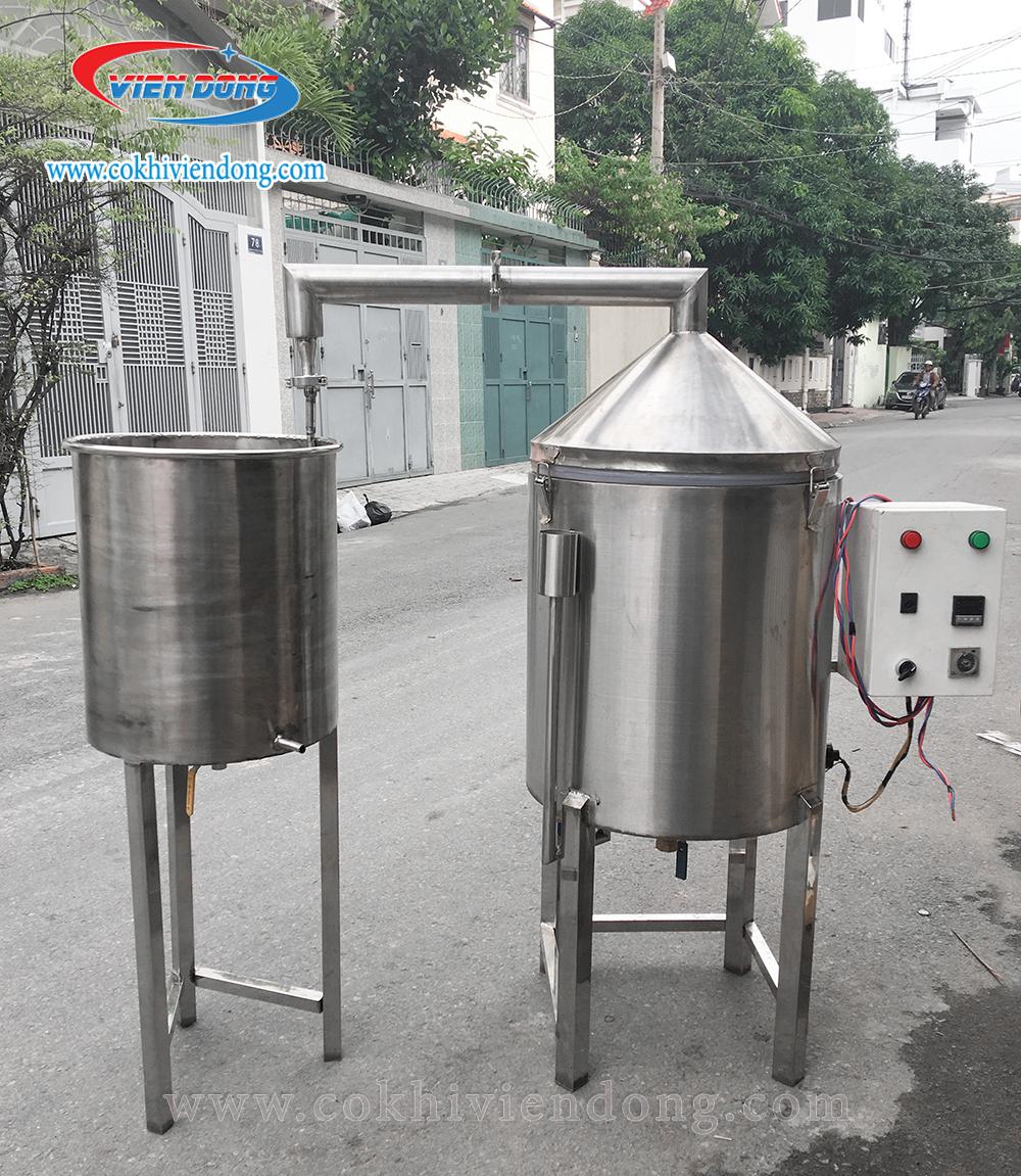 nồi nấu rượu bằng điện Viễn Đông