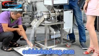 Báo giá máy ép nước cốt dừa công nghiệp tại xưởng sản xuất Viễn Đông
