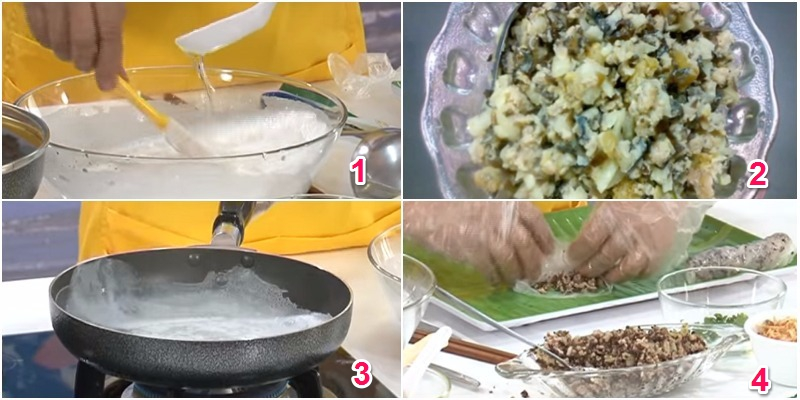 cách pha bột bánh cuốn