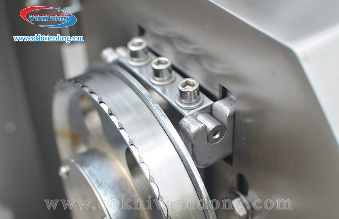 máy cắt thịt đông lạnh inox F120A