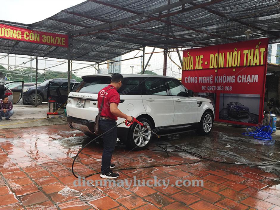 giá máy rửa xe cao áp
