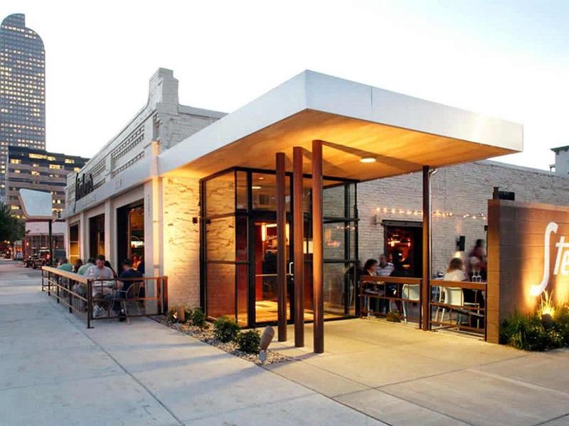 không gian quán ăn