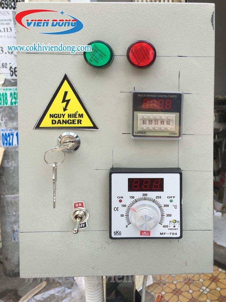 Bộ phận điều khiển hiện đại, dễ dàng sử dụng