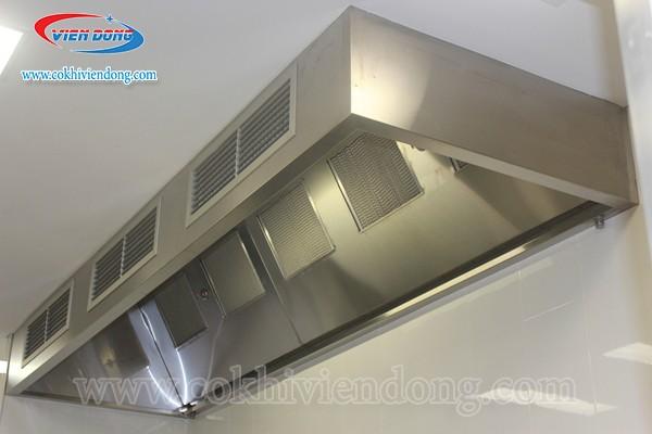 Tất tần tật về hệ thống chụp hút khói bếp công nghiệp trên thị trường