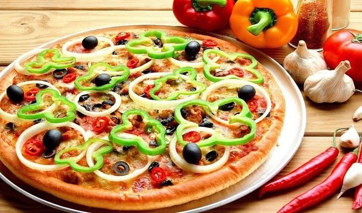 Mở cửa hàng pizza với mặt bằng nhỏ