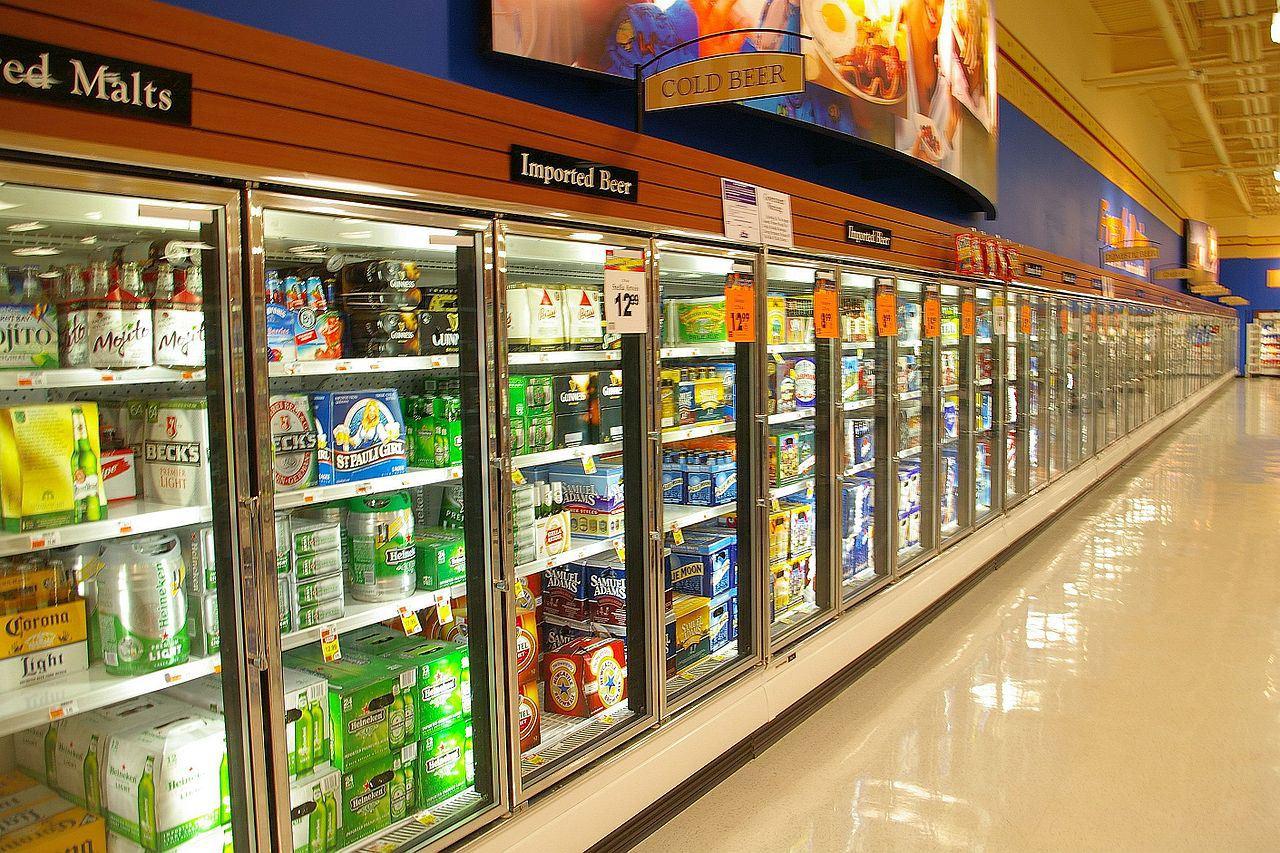 tủ mát trưng bày thực phẩm