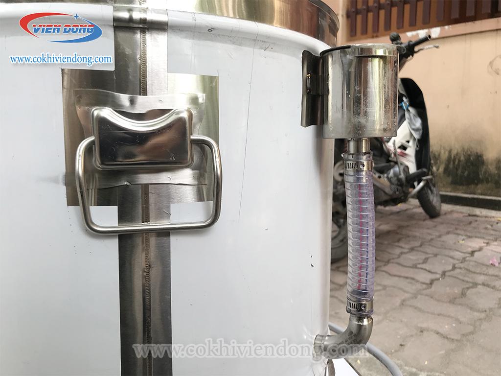 hệ thống cấp nước của nồi nấu xôi