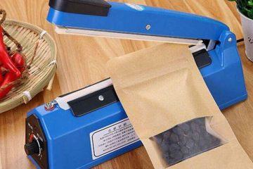 Máy hàn miệng túi dập tay- Thiết bị đóng gói dành cho gia đình, cửa hàng nhỏ