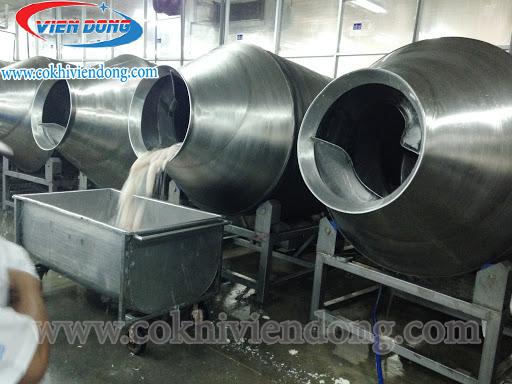 Máy rửa cá công nghiệp