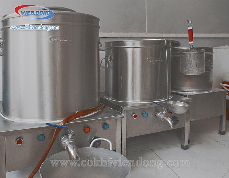 Bộ nồi nấu phở Việt Nam tiêu chuẩn 25–60–100L thế hệ mới