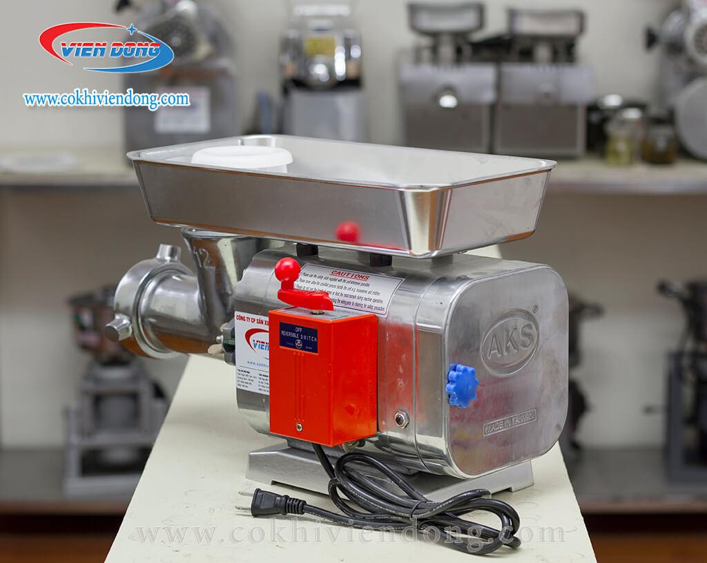 Cách dùng và một số lưu ý khi sử dụng máy xay thịt chuyên dụng AKS