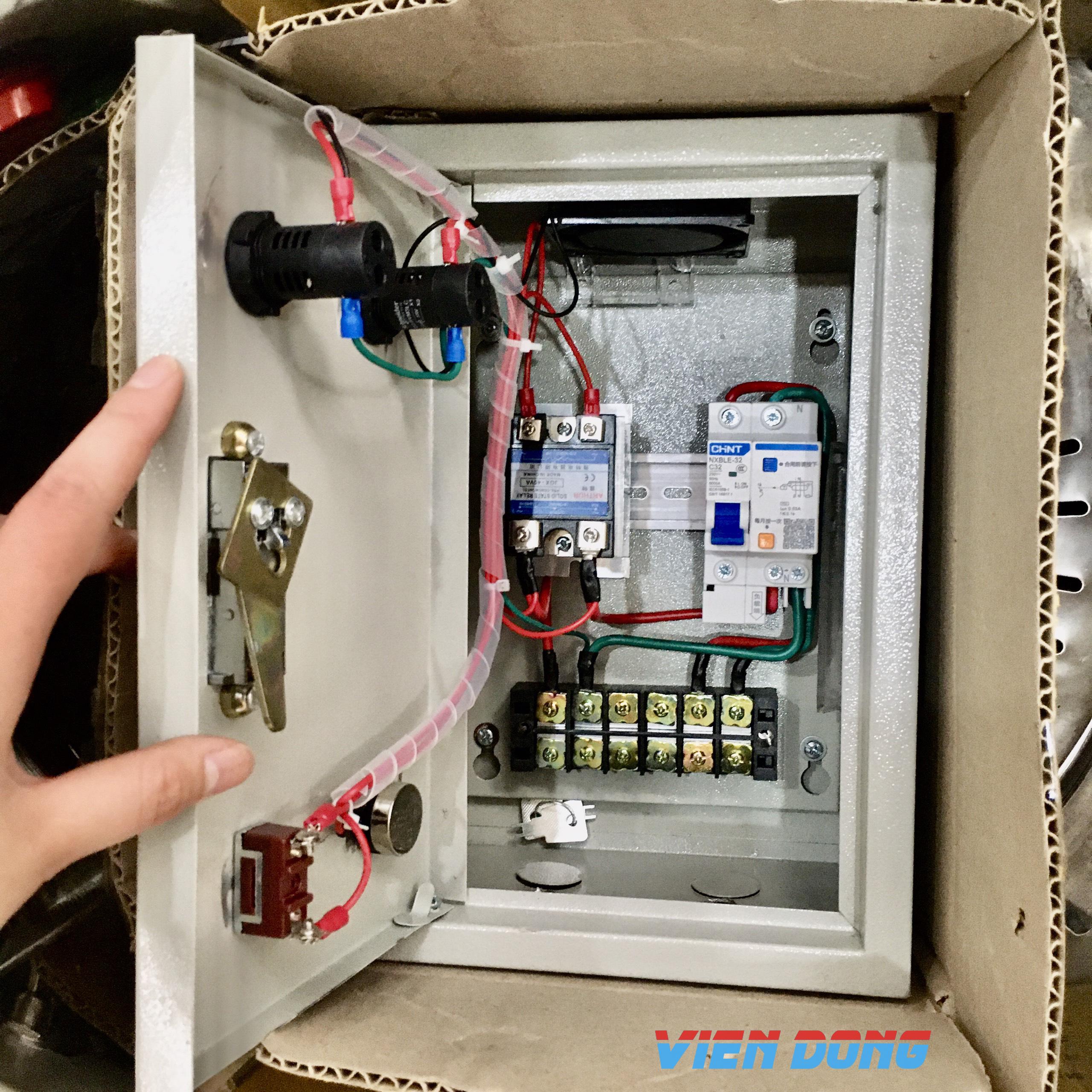 Cần có nguồn điện đầu vào để đun