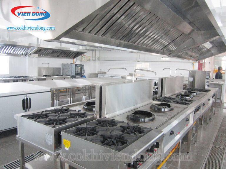 Bếp Á nâng cao hiệu suất làm việc