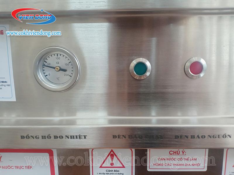 Đồng hồ đo nhiệt và chỉnh nhiệt